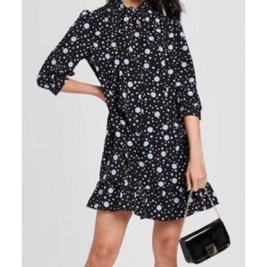 Who What Wear 2019 Polka Dot Retro Dress S G985